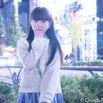 夜のイルミネーションポトレがロマンチック。永堀夢乃さんの可愛さを知ってほしい!